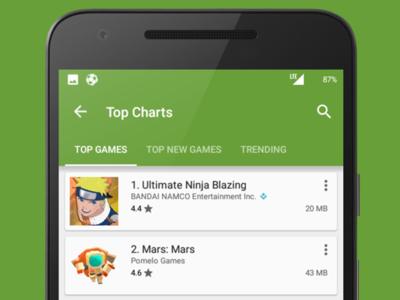 Google Play Store empieza a informar del tamaño de las aplicaciones desde los listados