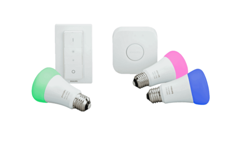 El kit Philips Hue White and Color Ambiance con 3 bombillas, puente y mando está rebajadísimo en Amazon a menos de 100 euros