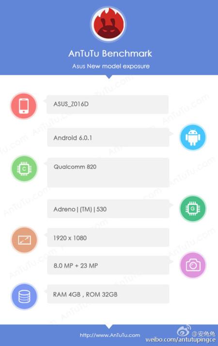 Asus Z016d Antutu Zenfone 3 1