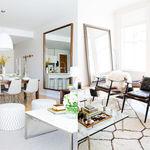 17 ideas de cómo colocar un espejo en el salón de tu casa