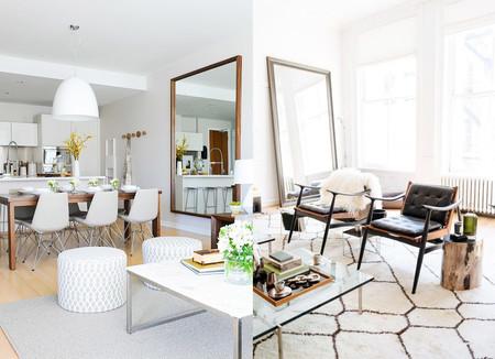 17 ideas de cmo colocar un espejo en el saln de tu casa