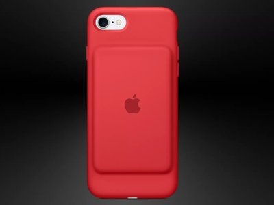 Apple lanza la nueva Smart Battery Case para su gama de solidaria Product (RED)
