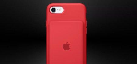 Apple lanza la nueva Smart Battery Case para su gama de solidaria Product (RED)