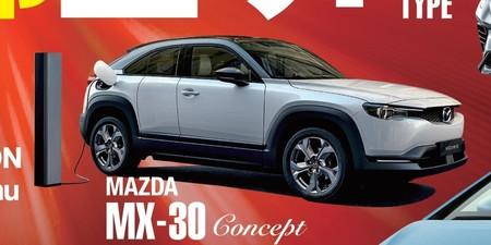 El primer coche eléctrico de Mazda, filtrado en una revista nipona: un afilado SUV que podría llamarse MX-30