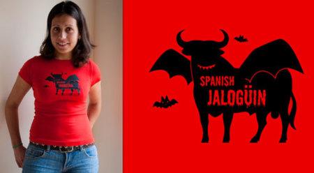 Halloween: Camiseta 'Spanish Jalogüin'