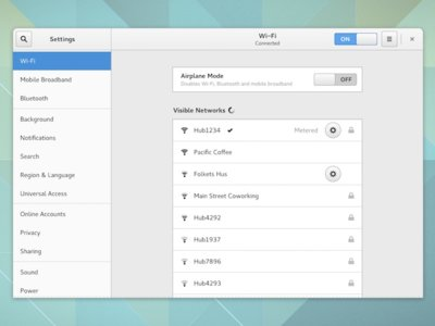 GNOME anuncia el total rediseño de su panel de configuración. La imagen de la semana