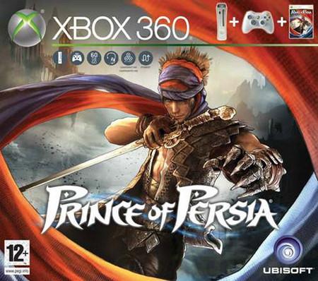 El pack de Xbox 360 con 'Prince of Persia' para esta Navidad