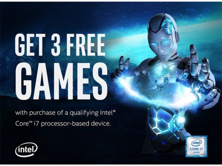 Intel Never Stop Gaming Free Games