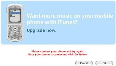 Apple podría retirar la limitación de 100 canciones de los ROKR