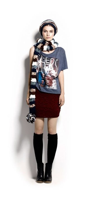 Grunge Pull and Bear