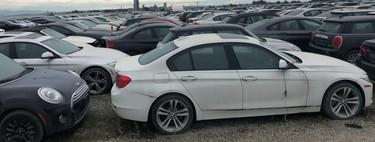 Dolorpasión™: Estos 3,000 BMW y MINI llevan casi 5 años descomponiéndose a la intemperie por un recall