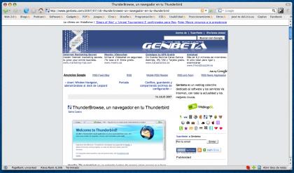 Mozilla Firefox 2.0.0.5, seguridad al instante