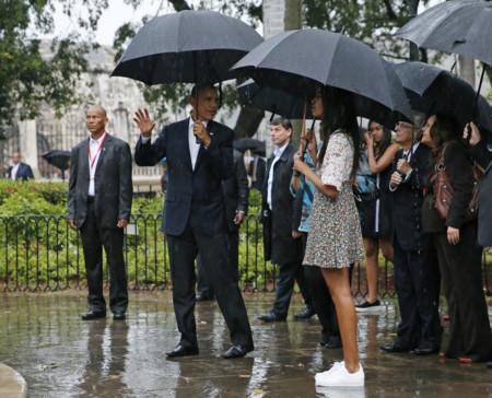 Malia Obama Cuba Asos Look Adidas 2