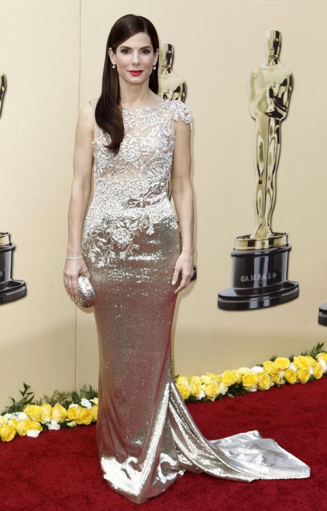 Sandra Bullock Oscar 2010 Marchesa