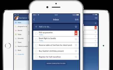 Microsoft quiere cerrar Wunderlist: alternativas para hacer el salto a otro servicio en iOS y macOS