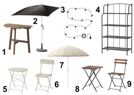Ikea Balcones