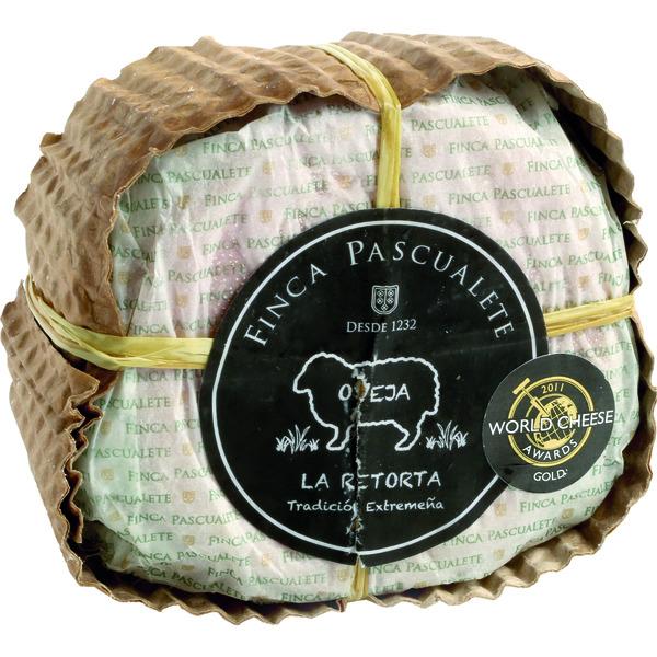 La Retorta queso de oveja cremoso curado de Extremadura pieza 500 g