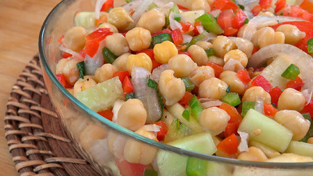 Ensalada De Garbanzos Blog