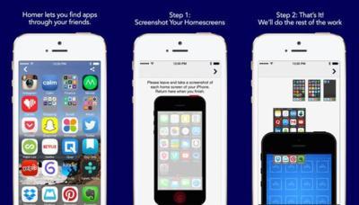 Homer, conoce las aplicaciones para iOS que utilizan tus contactos