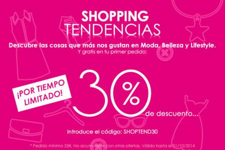 Descubre el producto que quieres en Shopping Tendencias y compra con un 30% de descuento por tiempo limitado