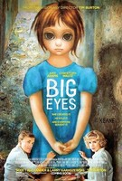 'Big Eyes' de Tim Burton, cartel