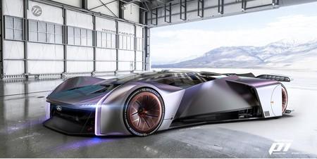 """Team Fordzilla P1 es el """"coche para gamers"""", Ford diseño este impresionante auto que vivirá en videojuegos y tendrá un modelo real"""