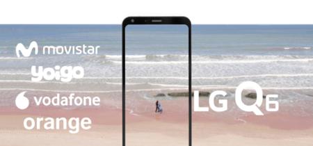 LG Q6 también llega a Movistar: comparamos sus precios a plazos con Vodafone, Orange y Yoigo