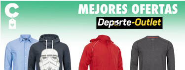 Camisas Slazenger por 4,99 euros, cortavientos Macro por menos de 7 euros y sudaderas Star Wars rebajadas: mejores ofertas Deporte Outlet