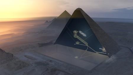 """La Gran Pirámide de Keops tiene un """"enorme hueco"""" en su interior y no tenemos ni idea de qué podría ser"""
