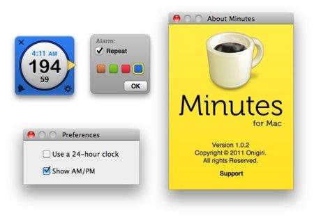 Minutes ahora es una app de la Mac App Store