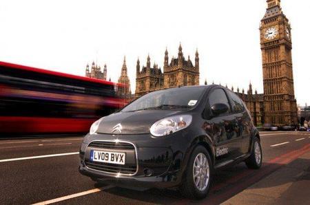 Citroën C1 eléctrico en Londres
