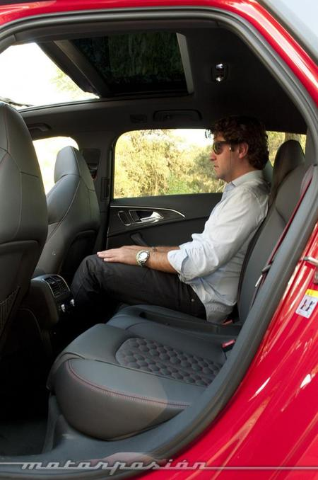 Audi RS 6 Avant plazas traseras