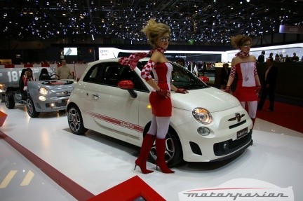 Fiat 500 Abarth en el salón de Ginebra