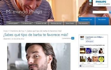 Mi Mundo Philips, para los hombres de hoy