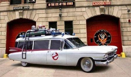 El mítico coche de los Cazafantasmas en subasta