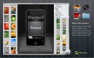 Ensoul, un programa para hacer fondos de pantalla para iOS