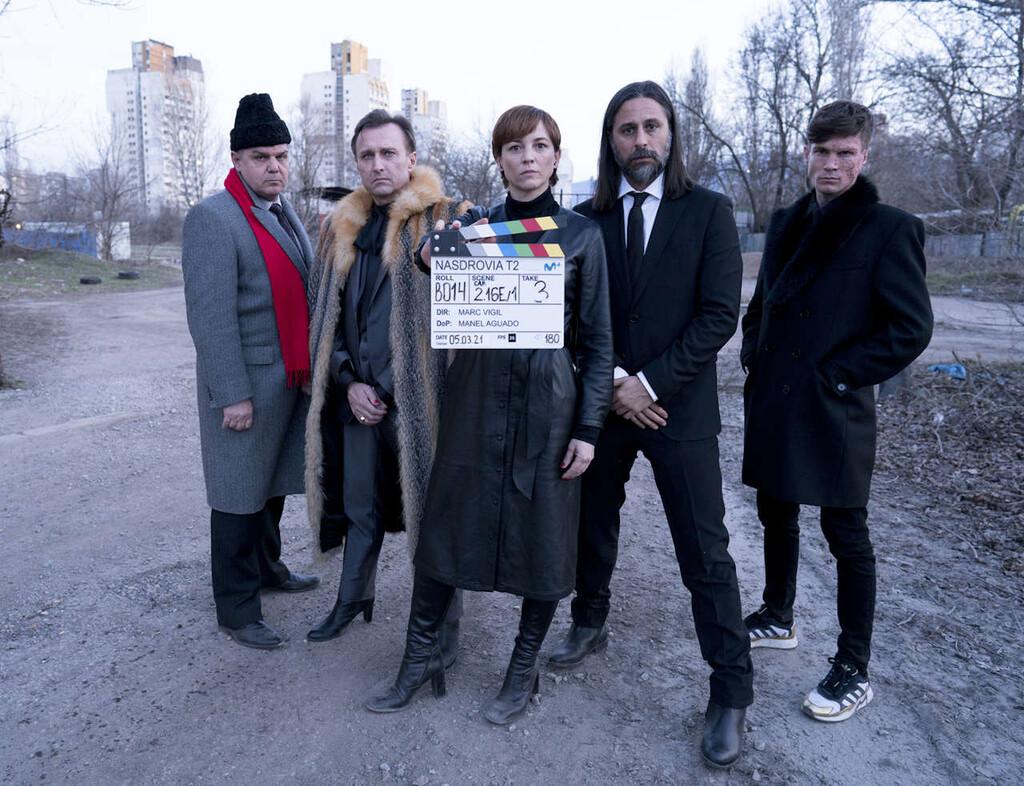 'Nasdrovia': la temporada 2 de la comedia de Movistar+ arranca su rodaje y muestra sus primeras imágenes