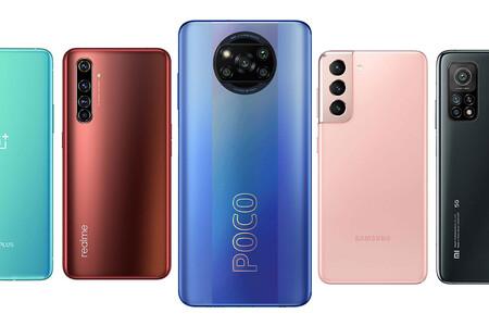 Xiaomi POCO X3 Pro, comparativa: así queda frente al OnePlus 8T, Xiaomi Mi 10T, OPPO Find X3 Neo y resto de gama alta Android