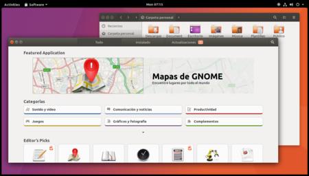 Así se ve Ubuntu 17.10 funcionando con GNOME en las últimas versiones alfa de la distro