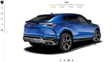 Lamborghini Urus 2018 Configurador 3