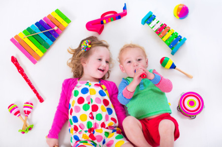 La música favorece el aprendizaje del habla en los bebés