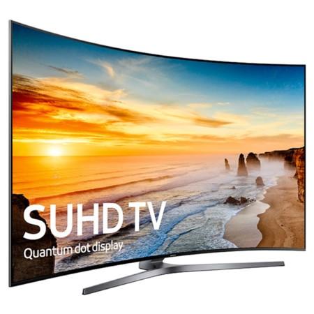 Televisor curvo SUHD de Samsung