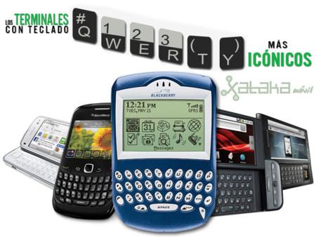 ¿Cuáles han sido los terminales con teclado QWERTY físico más icónicos hasta ahora?
