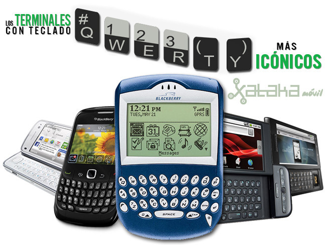 Terminales iconicos QWERTY