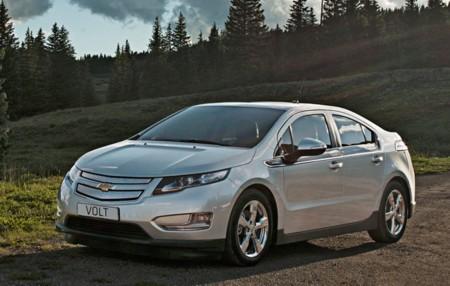 Chevrolet Volt gris plata