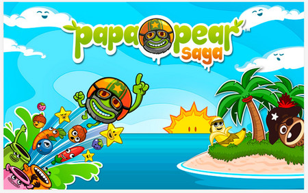 Papa Pear Saga, el nuevo juego para Android de los creadores de Candy Crush