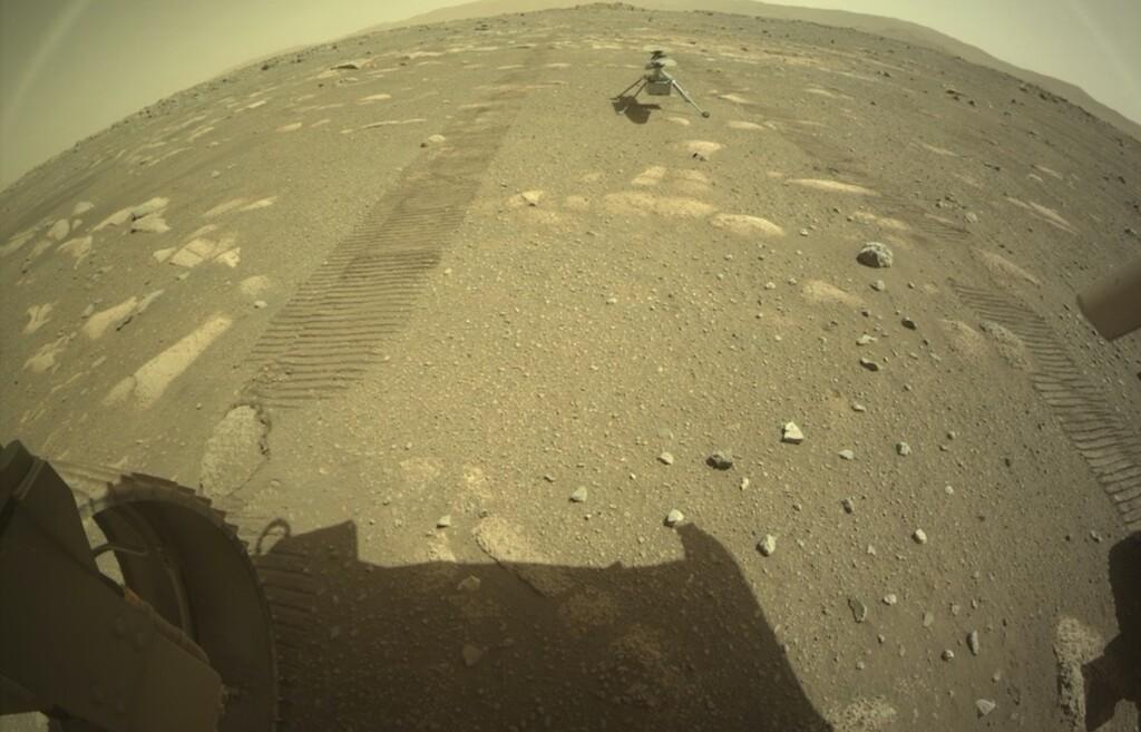 Ingenuity se prepara para su primer vuelo marciano: ya está en la superficie de Marte tras desplegarse de Perseverance