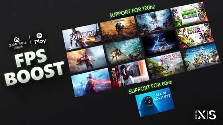 El FPS Boost de Xbox Series llega a 13 juegos más, añadiendo soporte para 120hz en doce de ellos