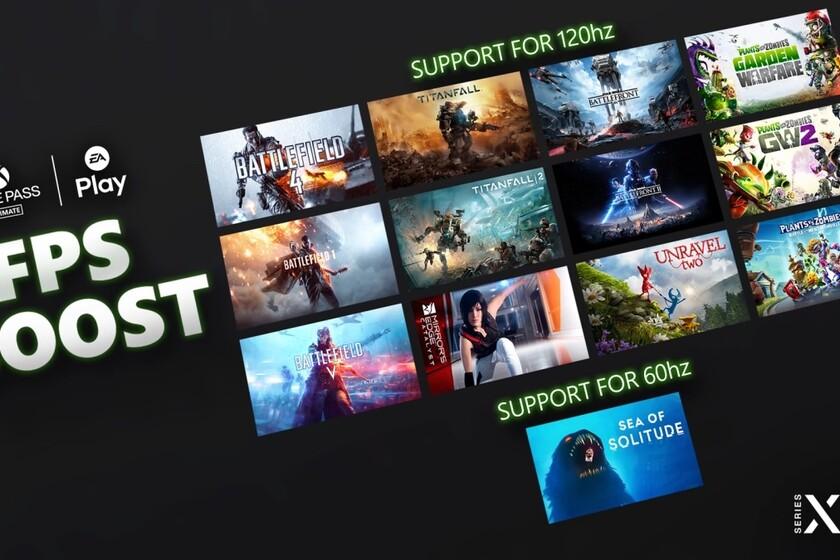 Titanfall 2, Battlefield V y otros 11 videojuegos de EA ya son compatibles con el sistema FPS en Xbox Series X/S