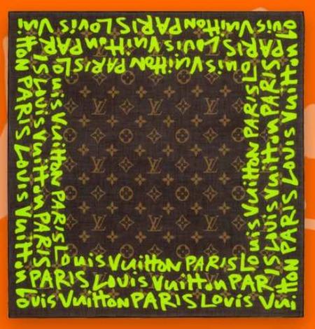 Louis Vuitton homenajea a Stephen Sprouse en su nueva colección, cartera